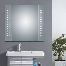 Bathroom Mirror Shaver Socket Illuminated Bathroom Cabinets Mirrors Shaver Socket Led