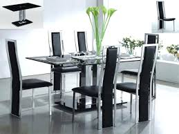 Tempered Glass Dining Table Dining Table Glass Top Dining Table Modern Fresh Designer Chairs