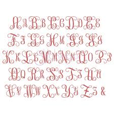 monogramed letters interlocking vine monogram set 1 1 5 2 2 5 3 stitchtopia