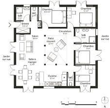 plan de maison plain pied 5 chambres plan de maison plain pied 5 chambres 14 la maison delo239que