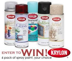 giveaway 6 pack of krylon spray paint u2013 home and garden