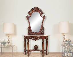 console table and mirror set hall console table mirror set http argharts com pinterest