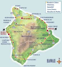 map of hawaii island hawaii big island a cruising guide on the cruising and