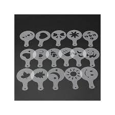 chocolate stencil templates 28 images snowflake cupcakes