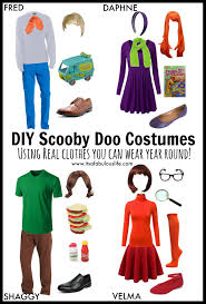 group halloween costume ideas diy scooby doo gang love these
