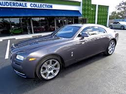 roll royce coupe 2014 used rolls royce wraith 2dr coupe at fort lauderdale