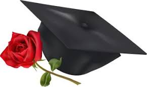 graduation flowers graduation with flowers clipart