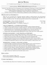 office manager resume exles retail manager resume exles best of assistant shalomhouse us