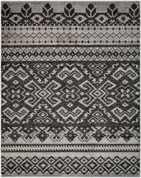 Black And Beige Area Rugs Rug Adr107a Adirondack Area Rugs By Safavieh
