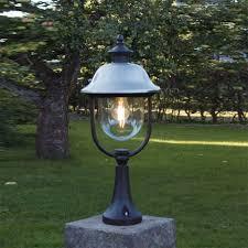 outdoor pole light fixtures pillar outdoor pole lights home ideas collection installing