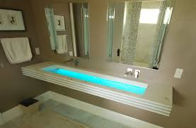 custom glass and concrete sinks by downing designs that make the