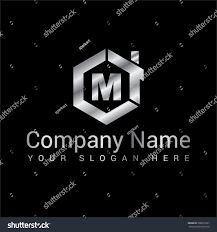 modern stylish logo design m vector stock vector 302016791