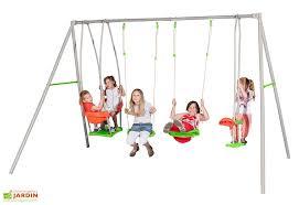 siege de balancoire pour bebe portique balançoire métal axion 2 20m luca siège bébé amca