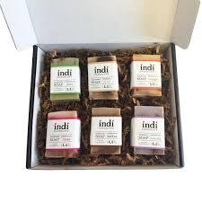 gift set handmade chocolate soap gift set indi chocolate