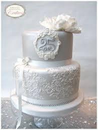 silver anniversary cake silver anniversary anniversaries and cake