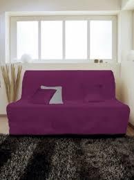 housse canap bz 140 housse pour canapé bz adaptable couleur prune anis pas cher