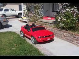 toddler mustang car mustang gt power wheels undercover car day