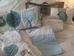 Dwell Crib Bedding Dwell Studio Owl Crib Bedding Set Ebay
