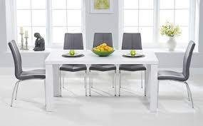 white high gloss table impressive high gloss dining table sets great furniture trading