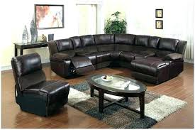 Black Leather Sofa Recliner Leather Sectional Sofa Recliner U2013 Knowbox Co