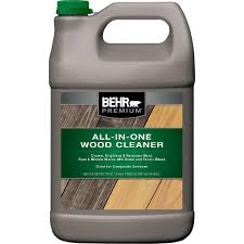what is the best cleaning product for wood cabinets behr premium 1 gal all in one wood and deck cleaner 06301n