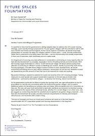 Business Letter Spacing Uk Open Letter To The Government Future Spaces Foundation