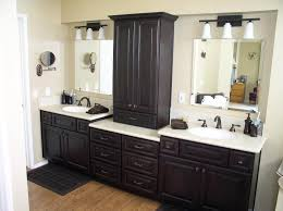 bathroom vanity with linen tower spacious furniture bathroom tower cabinets linen for in cabinet