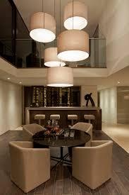 exquisite beach house in laguna california wine room lighting