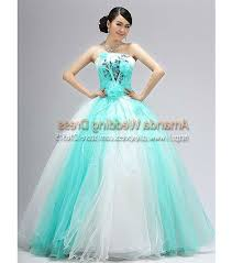 teal dresses for wedding teal and white wedding dress