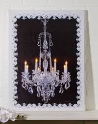 chandelier lighted picture shelley b home and