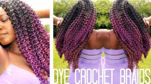 can you dye marley hair how to dye synthetic crochet braids youtube