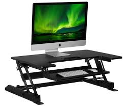 Dual Monitor Mounts For Desks Sit Stand Workstation Desk Converter With Dual Monitor Mount Combo