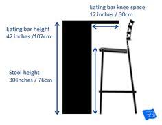 Commercial Bar Tables by Commercial Bar Seat Height Diagram Miscellaneous Pinterest