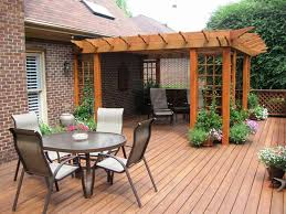 Backyard Deck And Patio Ideas by Backyard Ideas Patio Deck Backyard Decorations By Bodog