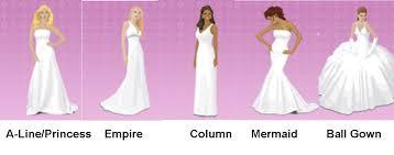 wedding dress shape guide fabulous wedding dress shapes wedding guide