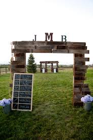 wedding arch entrance colorado country barn wedding country barns wedding rustic and