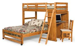 Chelsea Home Twin Over Full LShaped Bunk Bed  Reviews Wayfair - L shaped bunk beds twin over full