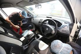 3m Foaming Car Interior Cleaner Car Interior Cleaning Take A Look At The Difference In This Foot