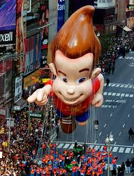 thanksgiving november 22 the jimmy neutron balloon floats down broadway during the 75th