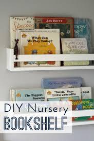 diy nursery bookshelves