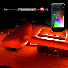 Marine Led Strip Lights by Strip Xkglow Xkchrome Ios Android App Bluetooth Control