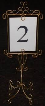 wedding table number holders wedding table number holders easel moments