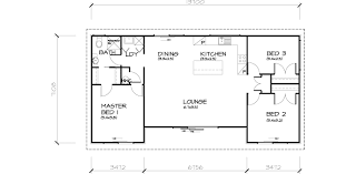 small 3 house plans 3 bedroom house plans floor plan for a small house 1150 sf with 3