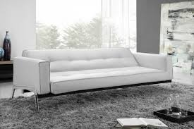 Modern White Leather Sofa Bed Sleeper Remarkable Sofa Bed White Leather Modern White Leather Sofa Bed