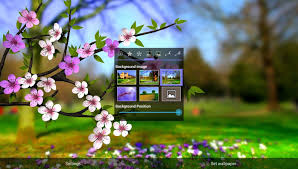 spring flowers 3d parallax hd android apps on google play