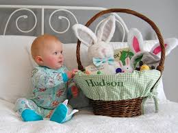 baby easter basket baby s easter basket the girl in the shoes