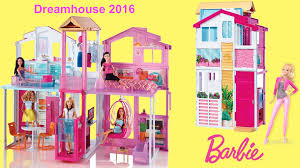 barbie dreamhouse 2016 3 story townhouse unboxing and full house