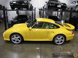 97 porsche 911 for sale 1997 porsche turbo s for sale yellow yellow 911 turbo