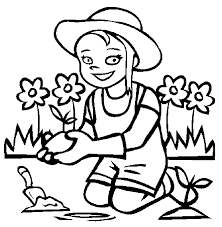 flower garden coloring pages to download and print for free