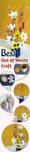 51 best best out of waste images on pinterest crafts creative